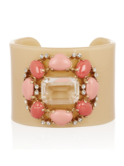 From floral friendship bracelets to bejeweled cuffs, this candy-colored jewelry is sure to sweeten up your spring wardrobe.Check out more top picks here» net-a-porter.com