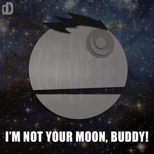 danndesigns:  That's no moon.
