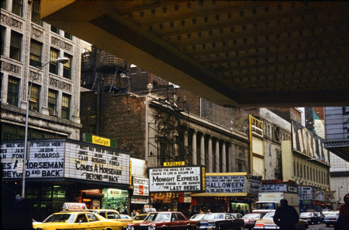 West 42nd Street, NYC, c. 1978.