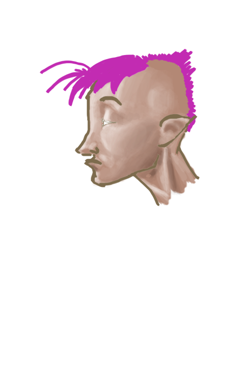 just a punk (work in progress)… any suggestions?