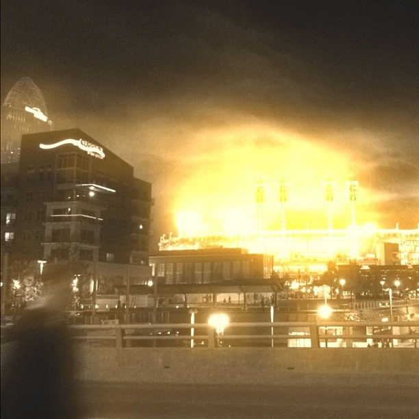 #cincinnati #warhead #mushroom #cloud (Taken with instagram)