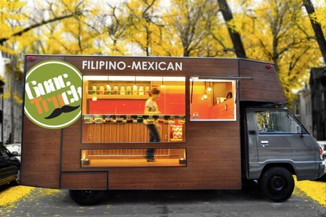 GuacTruck In Manila With The Throwback Design