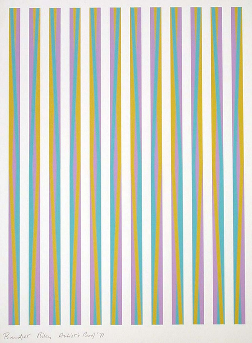 cavetocanvas:  Bridget Riley, Untitled, 1971
