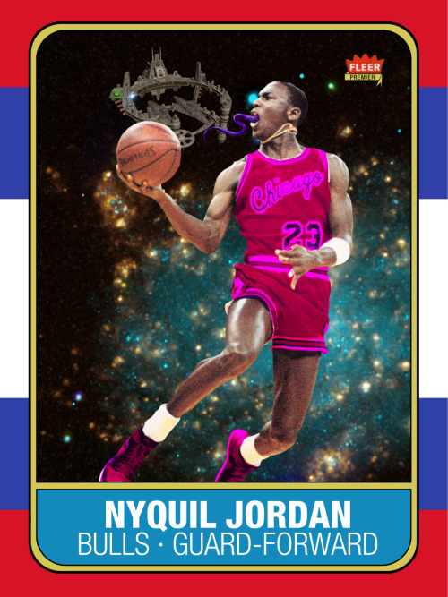 NyQuil Jordan Rookie Card, 2012