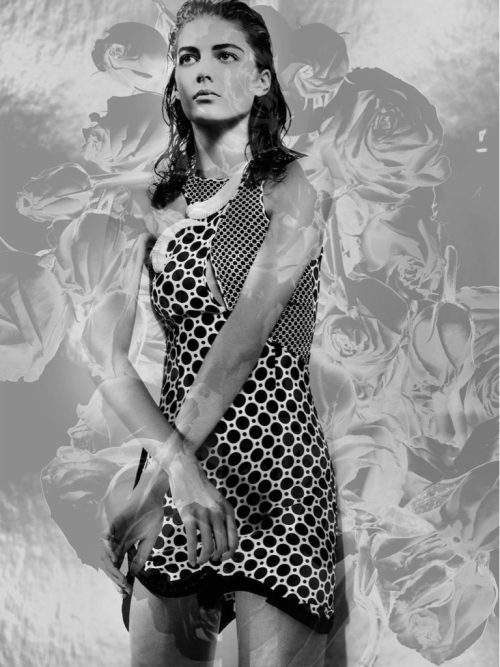 Katryn Kruger @ IMG  Interview Magazine  Dress, Stella McCartney SS 2012 Collection  Photographer, Craig McDean