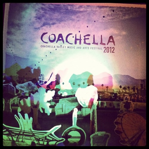 Finally finished this thing. Coachella on my mind. T - 48 hours!!!!! (Taken with instagram)