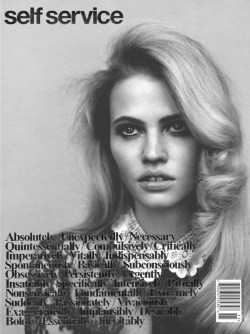 Lara Stone for Self Service #34