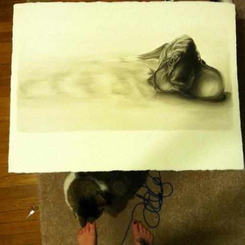 silverstarsammy:  Ink wash~ 4 hours~ Never want to see ink again~