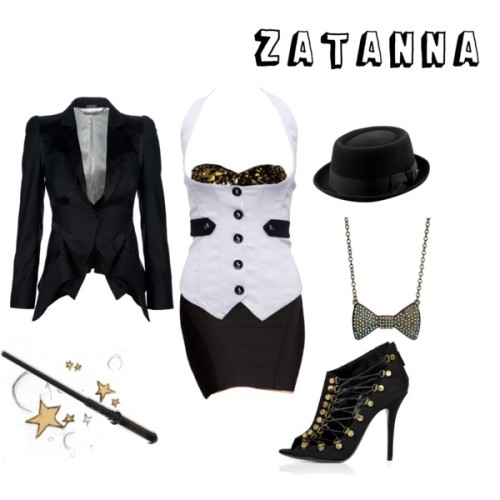 my zatanna-inspired outfit (via Zatanna)
