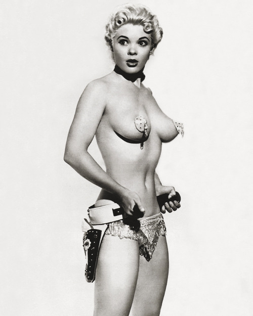 Stripper and burlesque dancer, Candy Barr c. 1950's