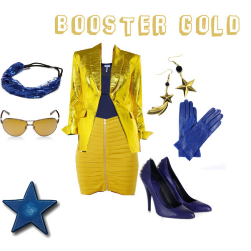 my booster gold-inspired outfit (via Booster Gold)