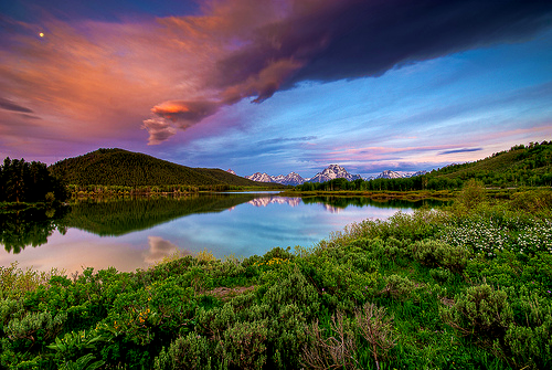 zombisexual:  Oxbow Sunrise (by Michael Bandy- autumnleafphotography.com)
