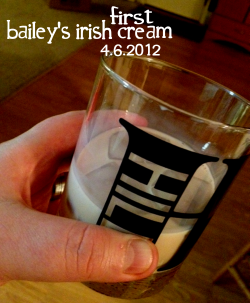 "Baileys Irish Cream (on the rocks)There is something you need to know about my Mom. She can sometimes tell you an entire story from start to finish, with high levels of detail, and it will all be a joke. She's pulling your leg. She's famous for that.Or sometimes she'll be talking about ""Susan"" and at the end of the story—complete with a description of ""Susan's"" hair, nails and sweater, she'll stop just before the end and say ""Oh, wait, it was Lauren. Not Susan. Anyway…"" It's not like it happens every conversation. But it happens enough that it happens. (Love you Mom.)So after having an Anchor Steam beer with my step-dad earlier in the evening—to mixed personal reviews: love my step-dad, hate his beer choice—it was getting late in the evening and I was starting to think about heading to bed.My Mom was cleaning up the kitchen and I came in to see her when I remembered, ""Oh hey, did you really want to be on the Adventure? Did you have a drink in mind?""""Oh yes!"" My Mom excitedly replied. ""Hold on, I'm going to go get it."" She stepped away and came back to the kitchen with a bottle of Bailey's Irish Cream. I've had my eye on Bailey's for some time now. I've had a few non-alcoholic items in the past that was flavored like Baileys, so I knew I'd like it in it's purist form. ""Mmmm, I love this stuff. I need to remember how to make the drink. It's Baileys and cream. I just can't remember the ratio.""Ten minutes in with my Mom on the computer and me on my iPhone, we still couldn't find a proper recipe for ""Bailey's Irish Cream and Cream"". …Shhh, shhh. Don't get ahead of me. I'm telling a story.""We don't need a recipe, Mom. I can just drink it over ice and throw some cream on it.""""No, now, there is a recipe. Just wait a minute. I've had this drink a dozen times. I just need to find it.  Normally David makes it for me, but he's gone to bed."" 10 more minutes later, she settled on just pouring the Bailey's over ice and we added a few splashes of half-n-half in the drink. ""You can add more than a few splashes."" I was admiring the drink when she stopped me and started laughing. ""Oh wait. You know what? It's Kahlua I'm thinking of. Not Baileys. Kahlua and cream. That's what I like to drink.""I laughed back. ""Do you have any Kahlua?"" She went to check. No. ""Do you want me to still drink this? Do you even like Bailey's?"" ""Oh sure, I love the whiskey flavor. But I was thinking Kahlua."" ""That explains the lack of recipe.""""And why you probably didn't need the cream.""""Well, it's almost 11:30pm. It's just like a really rich late-night dessert.""""Exactly.""She tried a sip, ""Yeah, no, that's good stuff. A little rich, but reallllly good. You'll like it.""She was right. Bailey's is like someone launched a MilkyWay candy bar through a whiskey cloud and then it rained this rich, creamy, milky, delicious nectar. It has this sting of whiskey—more than you'd think—but it finishes with a buttery, nutty, cream flavor. Its the kind drink that's cold but warms you. Coats your tongue like a hug. It's grown up milk, kiddo. It's grown up milk. If you didn't know, Baileys is a mix of Irish dairy cream, Irish whiskey, a secret mix of spirits and a touch of chocolate.My Mom is a mix of Native American descent, with the canning, knitting and creative skills of an Amish woman and the mind of a… well what would you get if you mixed a savvy politician, magician, comedian and surgeon together? Well, whatever that is, you'd get my Mom. With a dash of wild color and tone deafness. Point being, the drink pales in comparison to my Mom.  And it was a damn great drink.So, here's the deal Mom: I'm saving Kahlua for the next time I'm in town and we're visiting. No, don't argue, I am. That is unless you were mistaken. And it's your sister Laura that like Kahlua. You were thinking of something else. What was that? Damn. You were just talking about it the other day. Crap. Oh well, it'll come to you, I'm sure. (please don't kill me, I'm your baby boy…)Cheers & Love, BenPS: 2 down, 3 to go. 3 very fun drinks with some friends and family are coming up next. And you especially don't want to miss the drink I had on Easter. I might just start a new tradition. It ain't classy, but it'll work."
