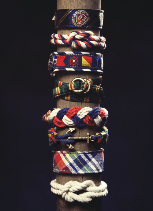 Kiel James Patrick Bracelets — Summer '12 —