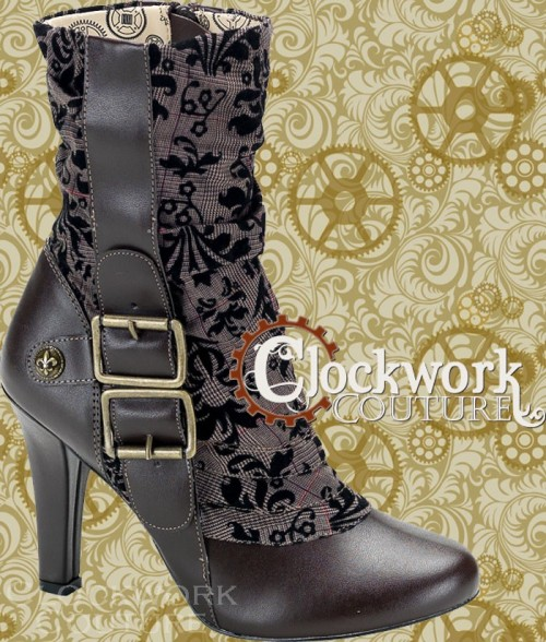 oddtreeapples:  Viva la France (Clockwork Couture; $52.95)