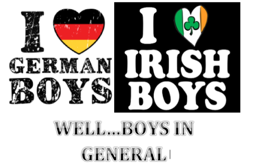 I'm both Irish and German! :D oh AND A BOY