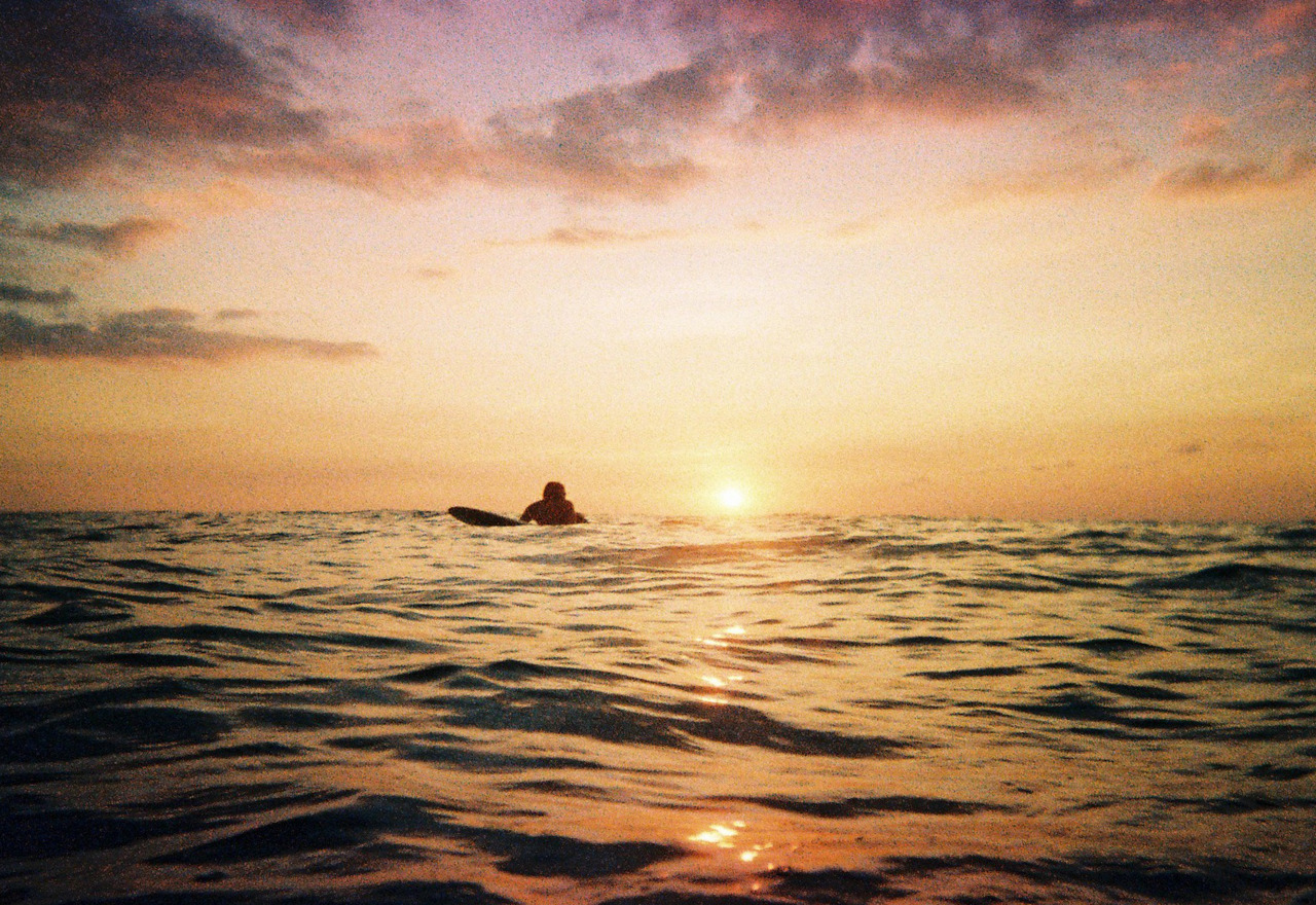 01.21.12 - Sunset Surf My last roll of Elitechrome. RIP Kodak. :'(  Diana F+ Fuji NPH 400  Vivitar Mariner Kodak Elitechrome 200
