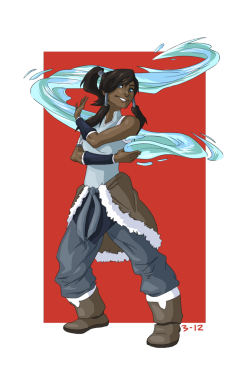 Korra by ~CrazySketcher52