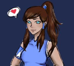 Pretty Korra is pretty by ~jojoxc