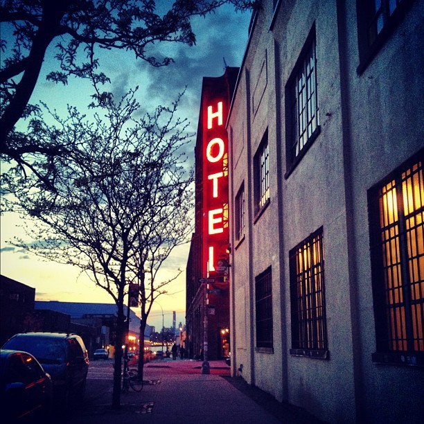Sundown  (Taken with Instagram at Wythe Hotel)