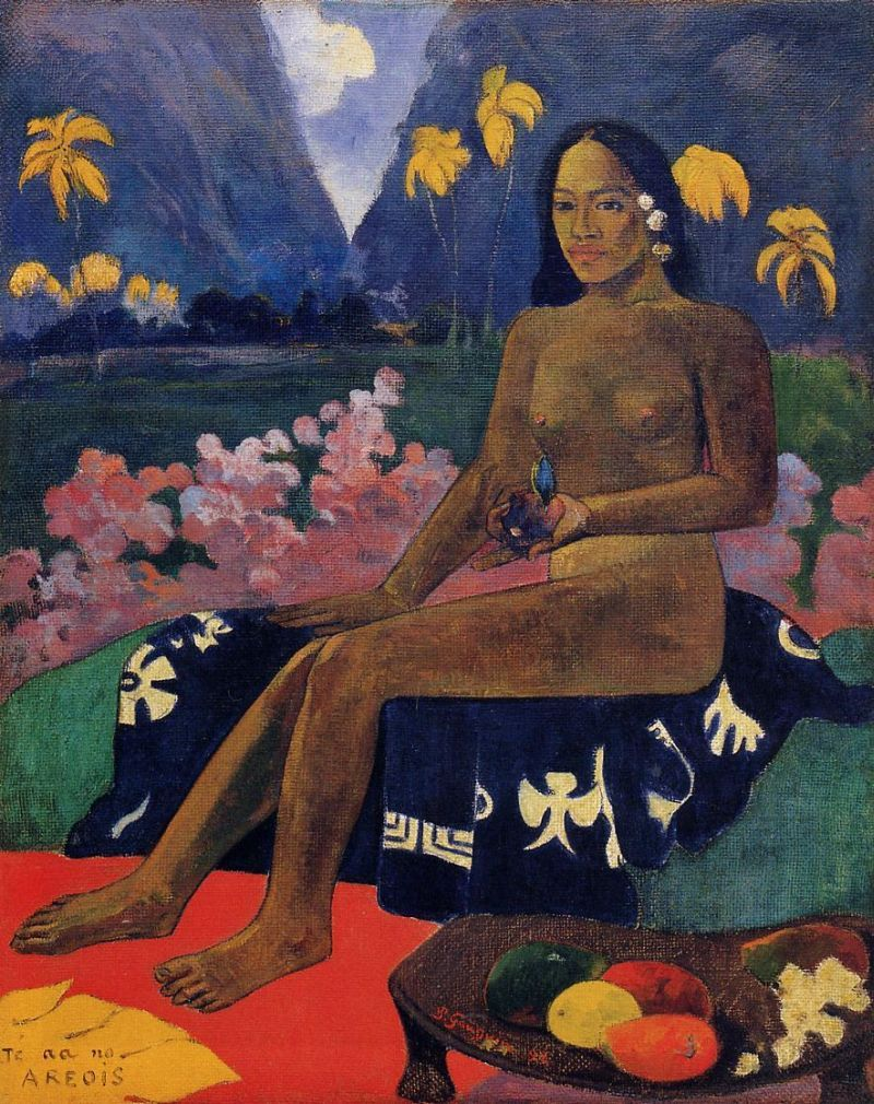 The Seed of Areoi, Paul Gauguin