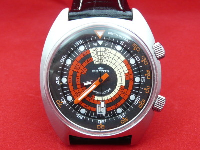 Vintage Fortis MarineMaster, a classic super compressor dive watch with a gorgeous dial.