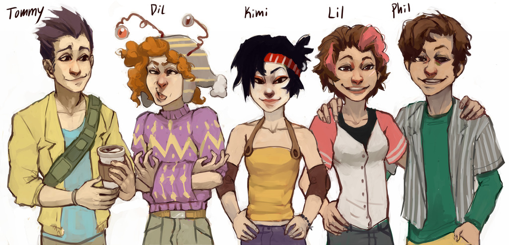 patronsaintoffirebenders:  The rest of the rugrats by ~Leerer-Raum