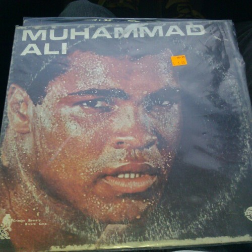 The greatest. on vinyl #muhammad #ali #cassius #clay #boxing #diggin #vinyl #dustyfingers (Taken with instagram)
