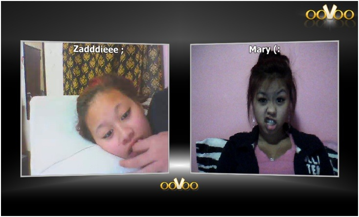 My little sister and I. We're in the same house oovooing each other cause we have no friends and no lives -__- Follow herrrr @ http://s-t-a-y—r-e-c-k-l-e-s-s.tumblr.com/