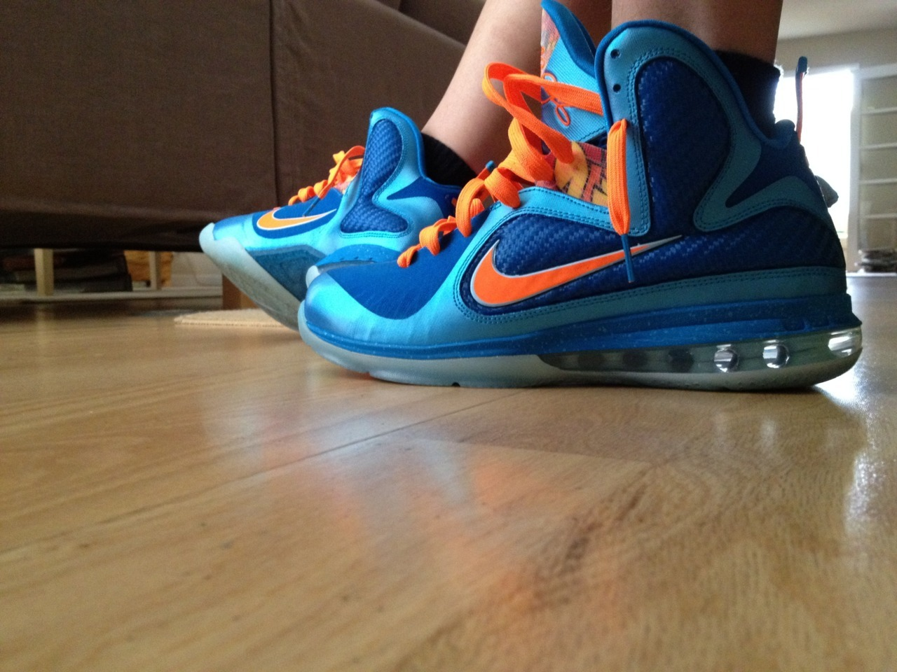 China LeBron 9s