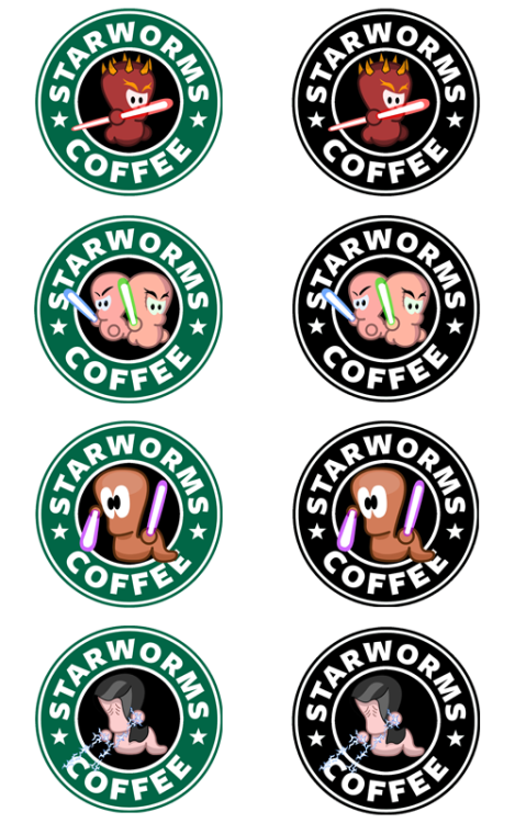 Star Worms Coffee - by Royal Bros Art T-Shirts, Stickers & iPhone Cases available on RedBubble Artist: || Facebook ||Twitter || Tumblr || Othertees || Qwertee ||