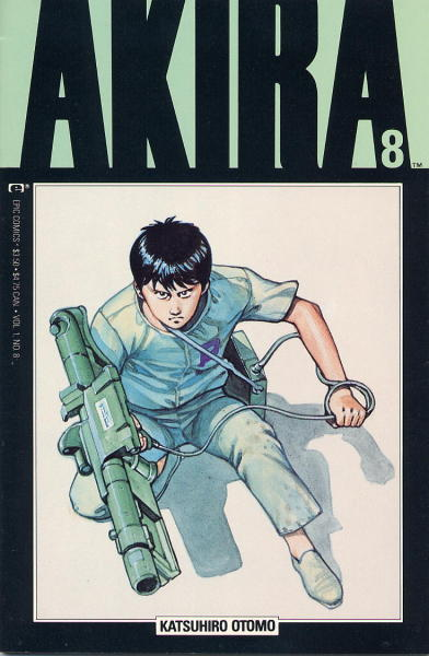 comicbookrappers:  Akira issue 8 cover