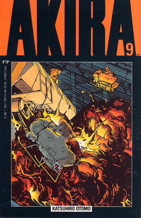 comicbookrappers:  Akira issue 9 cover