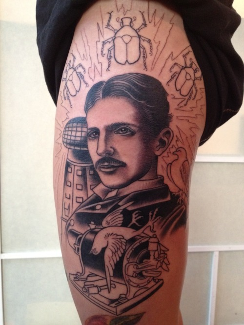 Nikola Tesla  After my first session with Zack Spurlock.