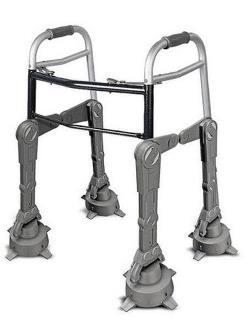 "AT-AT walker… genius. I showed this to my mom (she has MS and on bad days she needs assistance walking) and she said ""ohh, it's like those camel robots in the Star Tales movie"". yes mom… camel robots and Star Tales. <3"