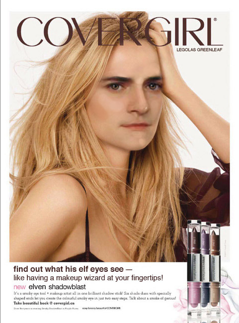 kittycoaster:  What do his elf eyes see? Find out with new Covergirl Elven Shadowblast!  (submitted by  kittycoaster )