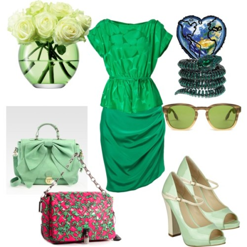 Earth Day by cynthia-coffield featuring a draped skirtMarc by Marc Jacobs boatneck top, $265Prabal Gurung draped skirt, $750Nine West peep toe high heels, $89RED Valentino flap bag, $745Marc Jacobs pink toteRoberto Cavalli spiral jewelry, €1.203Barton Perreira wayfare sunglasses, $415LSA Milo Vase