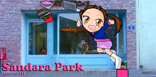 120324 Sandara Park - Etude Chibi Version From my original drawing to edited final version of Dara chibi fanart. ^_^