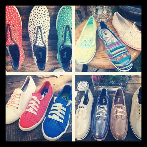 thezoereport:  Sneakers galore at the @Keds spring preview! (Taken with instagram)