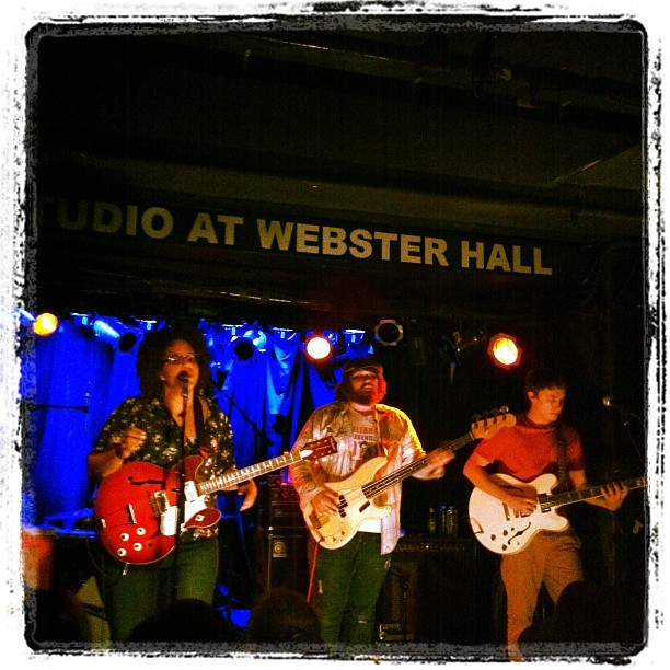 Alabama Shakes  (Taken with Instagram at Webster Hall)