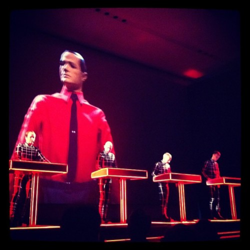 The first night of #Kraftwerk Retrospective at #MoMA (Taken with instagram)