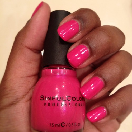New Nail Color For The Week! Oasis by SinfulColors.