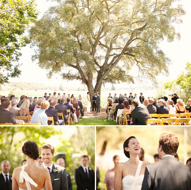 weddingdaydreams:  I really fancy the idea of using a giant old tree as a ceremony backdrop. Like, what better metaphor could there be for a deeply rooted and ever-lasting relationship?!
