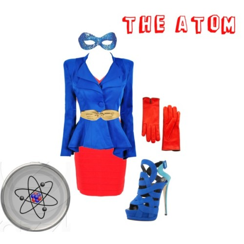 my atom-inspired outfit (via The Atom)