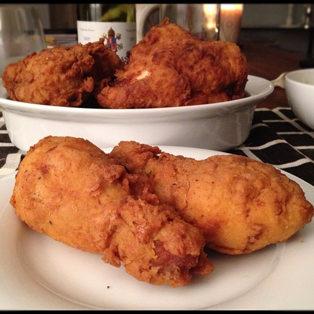 24 hours later - #adhoc buttermilk fried chicken y'all #worthit (Taken with instagram)
