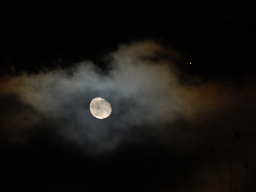 n-a-s-a:  Moon and Mars  Credit & Copyright: John Harms