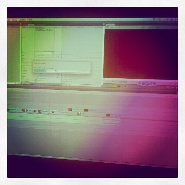 Editando… #nyu style!  (Taken with Instagram at Tisch School of the Arts - Alumni Office)