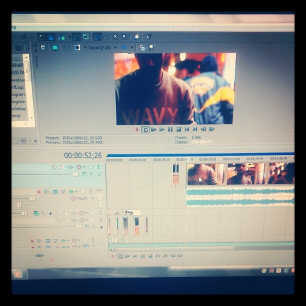 Editing… #MyGrind  (Taken with instagram)