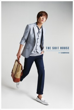 Jung Yong Hwa for The Suit House SS10