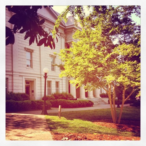 Beautiful day on campus at #UGA (Taken with instagram)